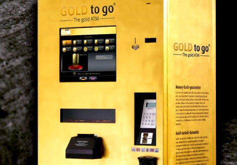 Florida Gets Its First Gold-Dispensing ATM Machine