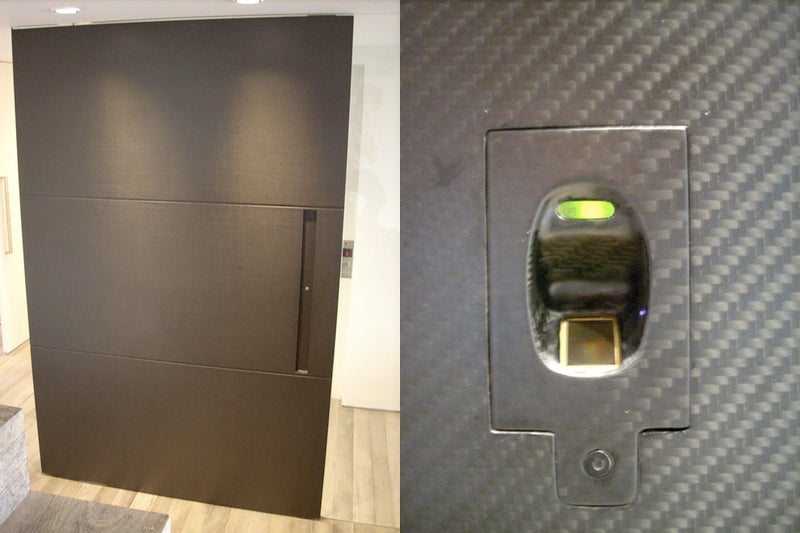 At the End of the Day, $15,000 Carbon Fiber Biometric Door Is Still Just A Door