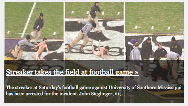 The East Carolina University Student Paper Is Not Afraid To Show Cock-And-Balls On The Front Page (NSFW)