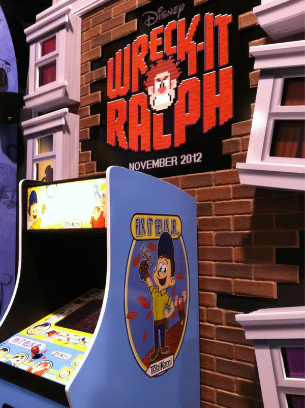 Disney's Wreck-It Ralph footage promises a hilarious journey into old-school video games