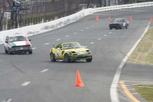 Not Much Racing Left: Civic Closing In On Miata, Alfas Making Their Move!