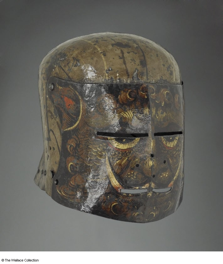 The Weirdest and Fiercest Helmets from the Age of Armored Combat
