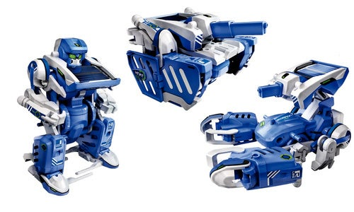 Solar Powered Transforming Robot Teaches Your Kids the Important Stuff
