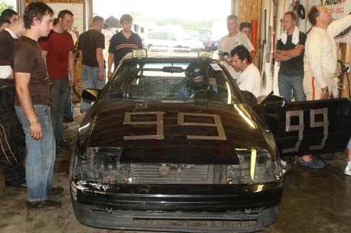 Jalopnik Celica Gets Into Race After Heroic Fix, Goes On Black Flag Binge