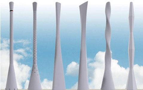 Ericsson's Tower Tube Give Cell Towers a Touch of Scandanavian Design