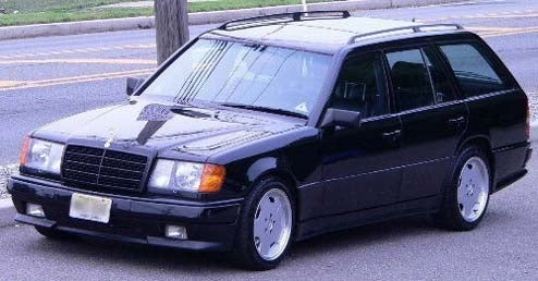 Please, No MC Hammer Jokes: 1988 AMG 300TE Wagon!