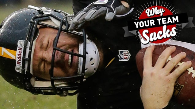 Why Your Team Sucks 2014: Pittsburgh Steelers