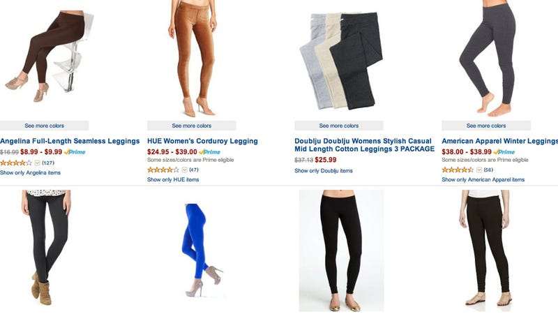Leggings, Leggings Everywhere — and It's Just Going to Get Worse