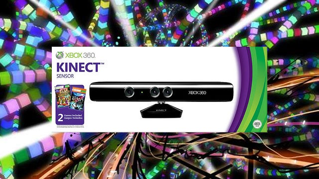 Child of Eden Sweetens the Kinect Sensor Bundle