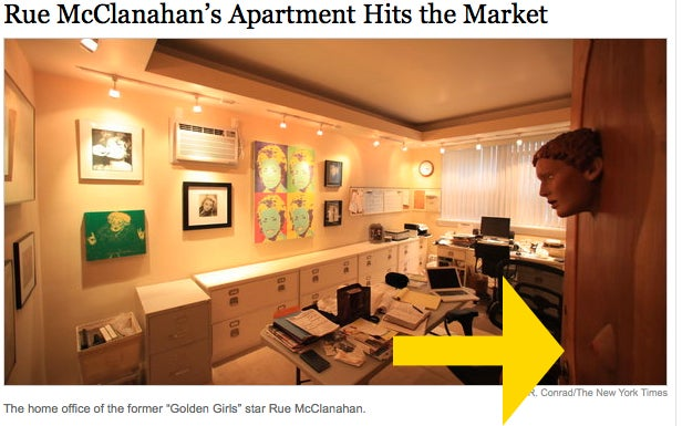 Rue McClanahan's Apartment Full Of Sexy Secrets