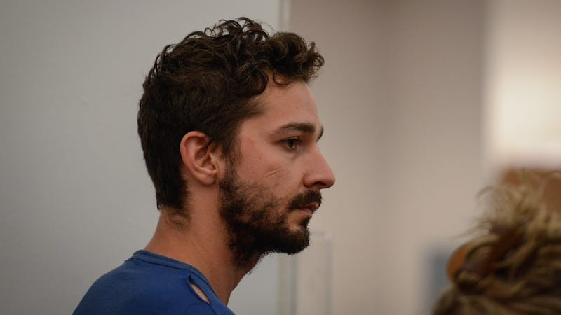 Shia LaBeouf Chased a Homeless Man Around Times Square