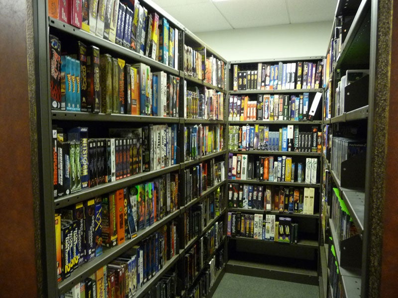 What's Inside Blizzard's Library?