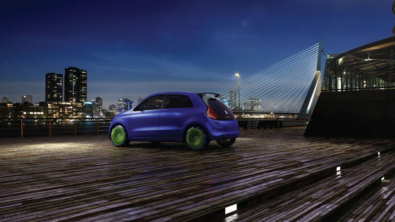 Ross Lovegrove's Renault Twin'Z Is Tripping Balls