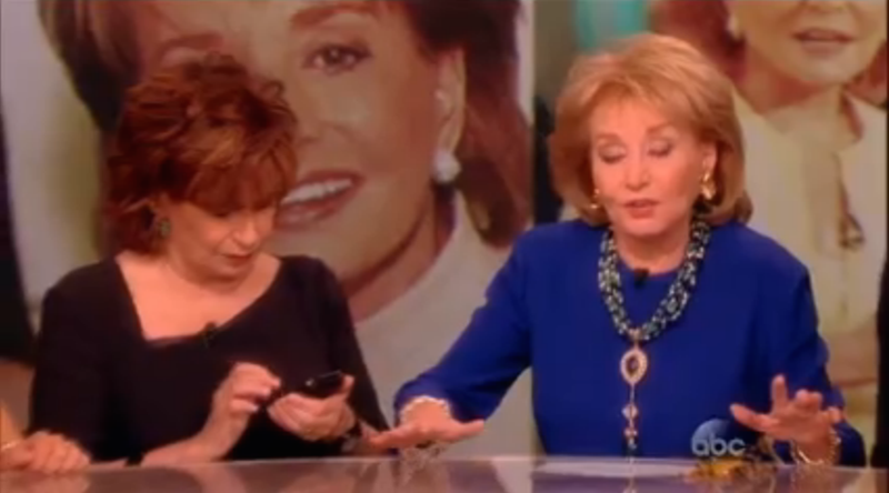 The View Said Goodbye to Barbara Walters With a Lot of Photos