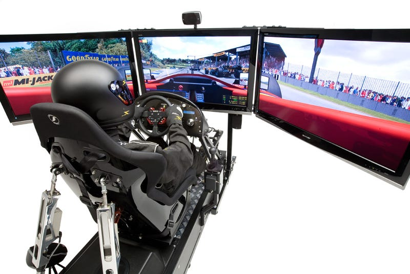 Motion Pro II Racing Simulator in Action, Still Cause for Divorce
