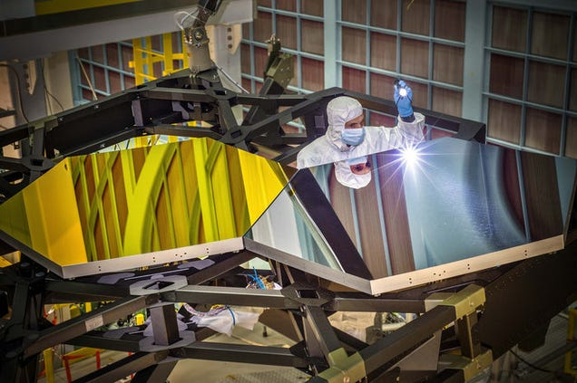 The James Webb Space Telescope Looks Like Gold Plated Space Origami