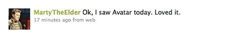 """Guess Who """"Loved"""" Avatar?"""