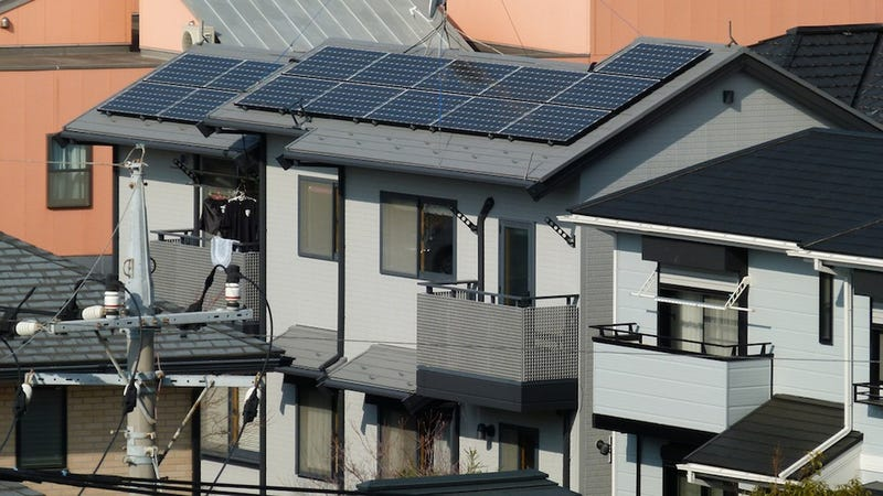 Japan Considering Solar Power for Every Single Building by 2030