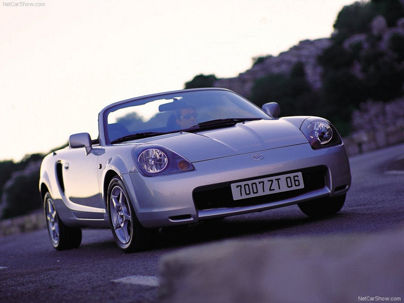 The Most Underrated Competitor to the Miata: Toyota MR-2 Spyder