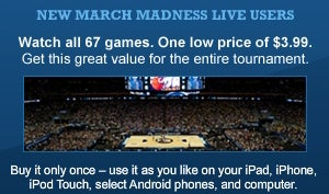 For Once, Pirating Is Pointless: Official March Madness Streaming Is Exactly What It Should Be