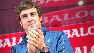 Fernando Alonso Signs $25 Mil Deal for 2015 ... with Cervelo