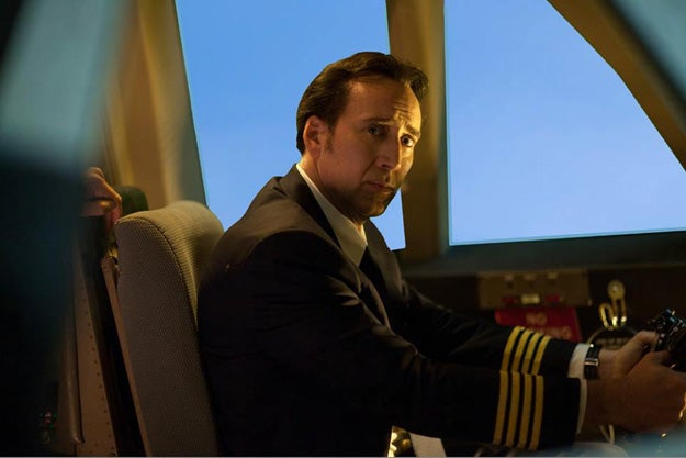 First Left Behind images, fingers crossed for Nic Cage as God