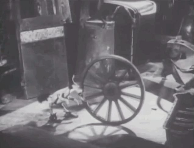 This Bizarre Stop-Motion Film About A Junk-Eating Bird Was Made In 1930