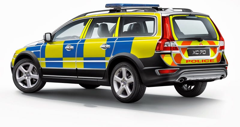 Volvo Wants To Make All The Police Cars