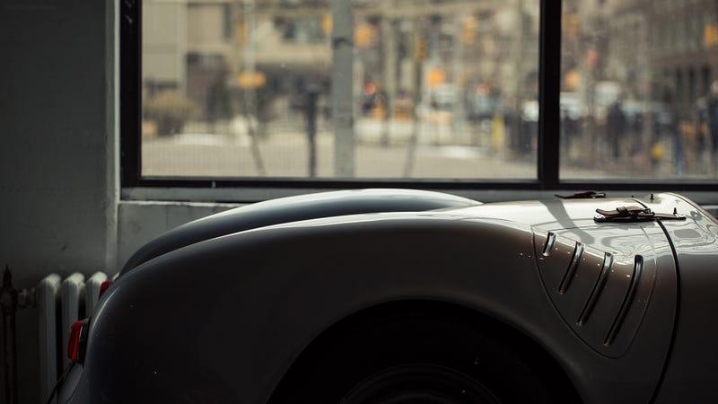 550 Spyder at the Classic Car Club of Manhattan