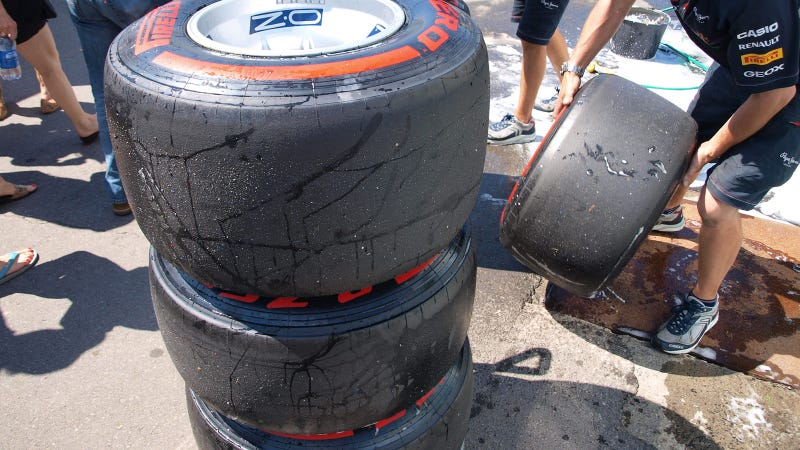 The Wheels And Tires Of Formula One