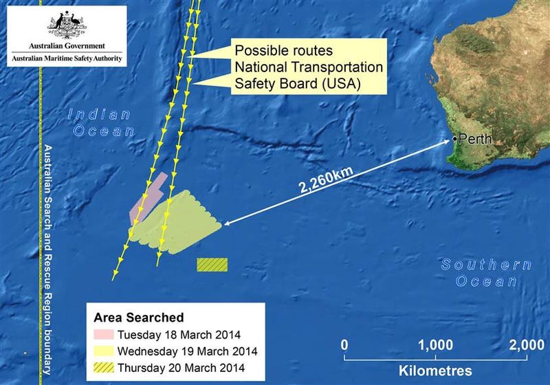 [BREAKING] Possible Parts of Missing Jet Spotted Off Australia