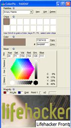 Build a good color palette with ColorPic