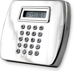 Calculator Belt Buckle Makes Us Chuckle