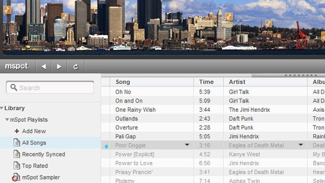 mSpot Ups Its Streaming Music Storage to 5 GB
