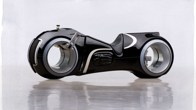 This TRON Motorbike Is Totally Functional, And Yes, You Can Buy It