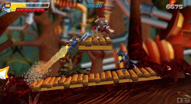 Konami Revisits Rocket Knight Adventures For XBLA, PSN