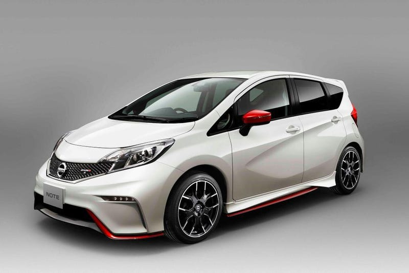 The Nissan Versa Note Nismo Proves You Can Nismo Anything