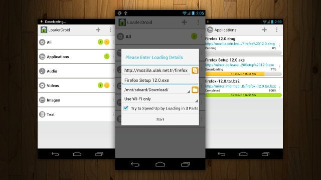 Loader Droid Gives You Full Control Over Your Android Downloads