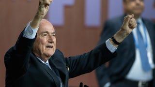 Why Sepp Blatter Will Run FIFA Until He Dies