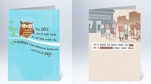 Condolence Cards For That Special, Jobless Person in Your Life