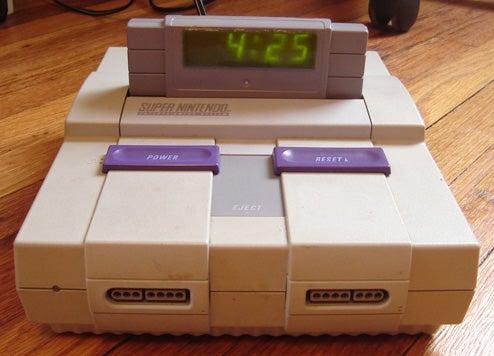 DIY Super Nintendo Digital Alarm Clock