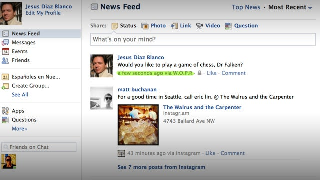 How to Update Your Facebook Status Using an iPhone 5, Google+, Harry Potter or Jedi Mind Control