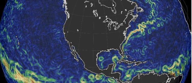 A Beautiful Map of Global Ocean Currents
