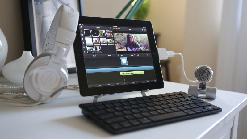 The iPad Video Editing Workstation