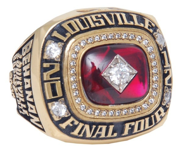 Chane Behanan's 2012 Final Four Ring Is Up For Auction [Update]