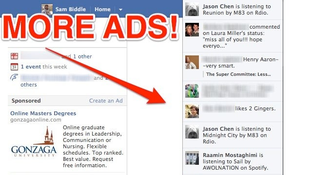 Hooray! Facebook Ads Are Heading to Your News Ticker