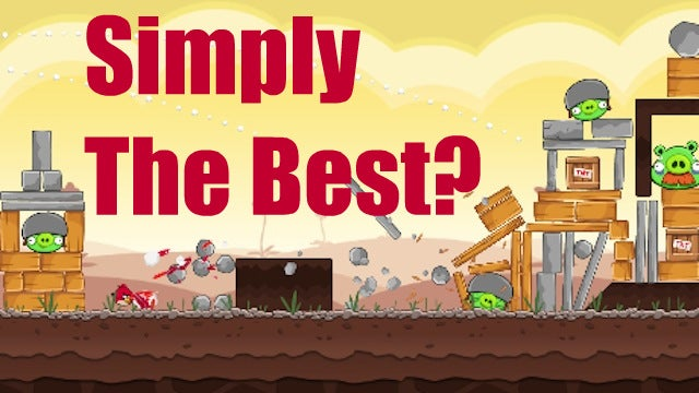 The Argument For Angry Birds As The Game Of The Year