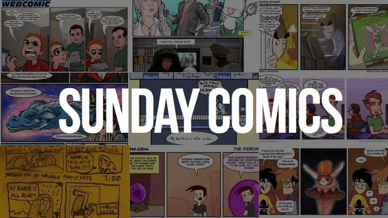 Sunday Comics: Me Time