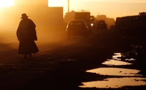 Sunset, El Alto, Bolivia