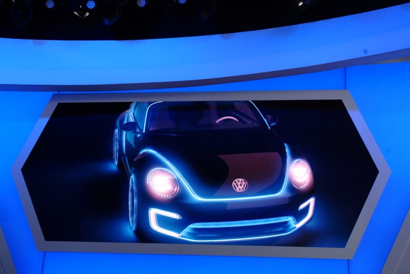 Volkswagen E-Bugster Concept Gallery